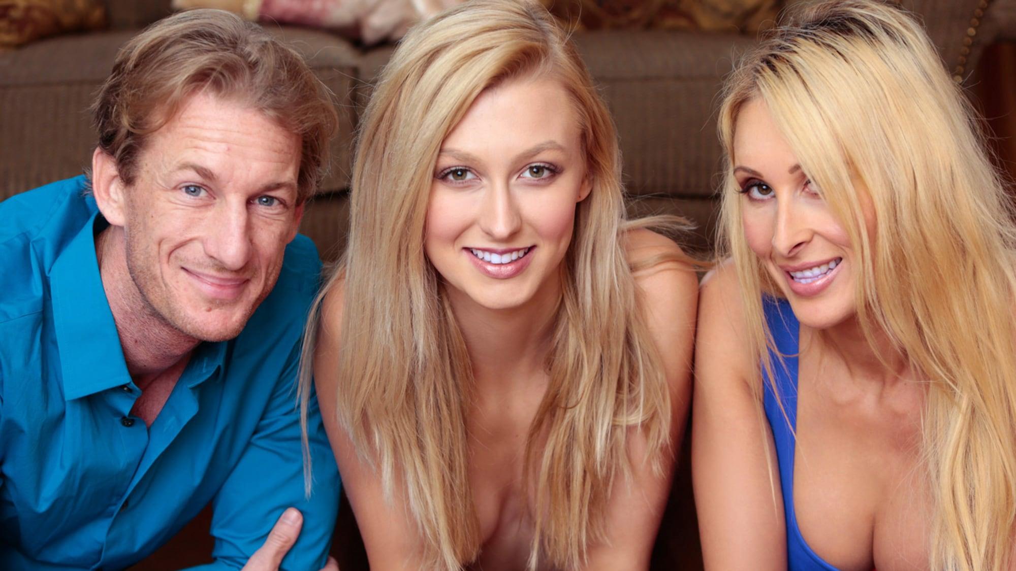 Milf Step Mom Threesome