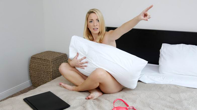 Step Sister Blackmailed Into Sex