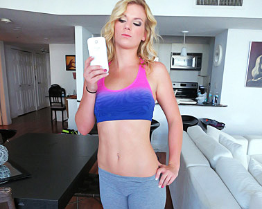 Sami St Clair in #FitGirlsFuckBetter - The Real Workout