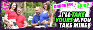 Daddy's little princess are ready to explore their wild side, and who better to guide them through this journey then the mature man who knows just how to give them exactly what they need. Its time for a Daddy's favorite girl to find out what she has been missing. Only on DaughterSwap.com!