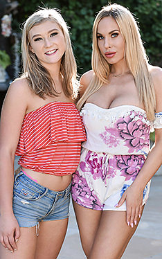 April Aniston and Olivia Austin | Badmilfs