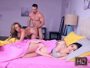 Brenna Sparks and Richelle Ryan in Dirty Daughter Dirtier Stepmom - Badmilfs | Team Skeet
