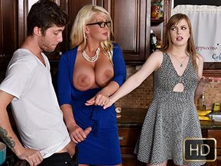 Dolly Leigh and Alura Jensen in My Step Daughters Boyfriend - Badmilfs | Team Skeet