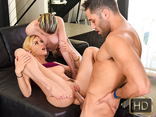 Haley Reed and Marie McCray in If You Dont Fuck Him Mommy Will - Badmilfs | Team Skeet