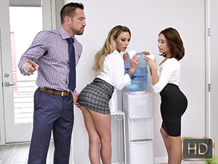 Isabella Nice and Isabelle Deltore in Head Gets You Ahead - Badmilfs | Team Skeet