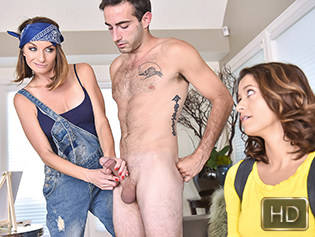 Izzy Bell and Silvia Saige in Arts And Sex Crafts - Badmilfs | Team Skeet