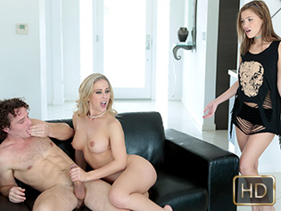 Karter Foxx and Cherrie Deville in The Mature Lure - Badmilfs | Team Skeet