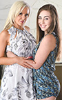 Lexi Lovell and Nina Elle