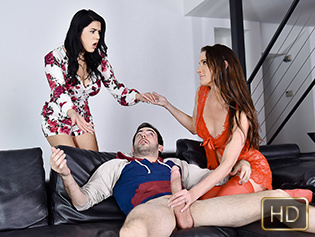 Sofie Marie and Monica Sage in Treat Me Like You Treat My Stepdaughter - Badmilfs | Team Skeet