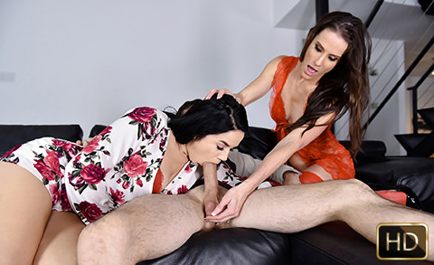 Sofie Marie and Monica Sage in Treat Me Like You Treat My Stepdaughter | Team Skeet