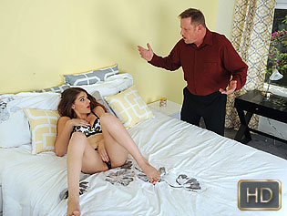 Haley Banks in Innocent Babysitters First Time - My Babysitters Club | Team Skeet