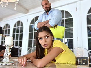 Katya Rodriguez in Slick Sitter Gets Schooled - My Babysitters Club | Team Skeet