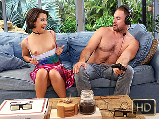 Penny Nichols in Gaming and Fucking - CFNMTeens | Team Skeet