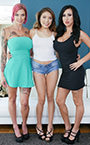 Anna Bell Peaks, Lily Lane, and Sami Parker