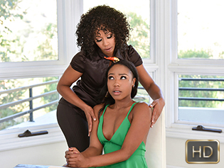 Chanell Heart and Misty Stone in Pussy Payment Plan - Dyked | Team Skeet