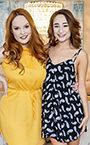 Isabella Nice and Summer Hart