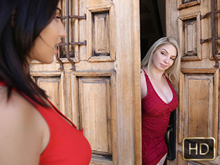 Jade Baker and Kiki Daire in Million Dollar Muff Munching - Dyked | Team Skeet