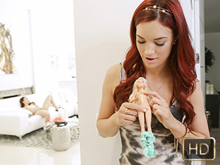Jayden Cole and Jennifer Jacobs in The Voodoo Vendetta - Dyked | Team Skeet