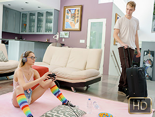 Aften Opal in Fucking For A Fortnight - Exxxtra Small | Team Skeet
