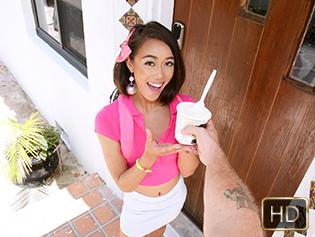 Aria Skye in Dainty Double Dessert Teen - Exxxtra Small | Team Skeet