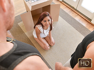 Elle Voneva in Tiny Thief Gets Trapped - Exxxtra Small | Team Skeet