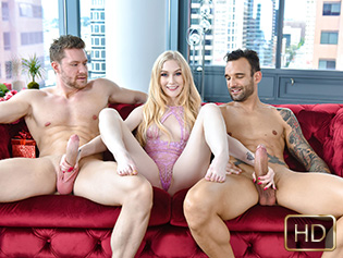 Emma Starletto in Valentines Day Double Dick Down - Exxxtra Small | Team Skeet