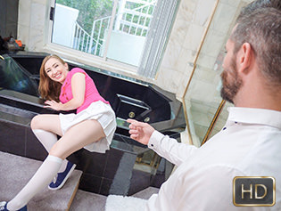 Gracie May Green in Tiny Petite Gets Some Liquid Skeet - Exxxtra Small   Team Skeet