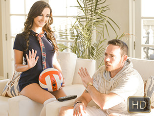 Jade Amber in Vagina Volleyball - Exxxtra Small | Team Skeet