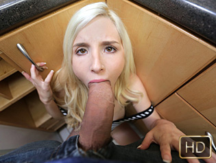 Piper Perri in Teeny Weenie Blonde Meets Huge Cock - Exxxtra Small | Team Skeet
