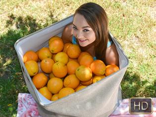 Sabrina Rey in Orange You Glad Im So Tiny - Exxxtra Small | Team Skeet