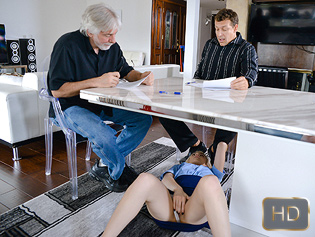 Stevie Grey in Business And Petite Pleasures - Exxxtra Small | Team Skeet