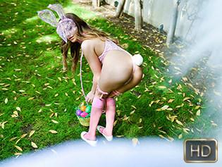 Summer Brooks in Mini Easter Bunny Babe Gets Slammed - Exxxtra Small | Team Skeet