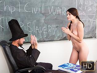 Adria Rae in Gettysburg Undressing - Innocent High | Team Skeet