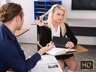 Aubrey Gold in Cock Concentration - Innocent High   Team Skeet