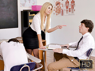 India Summer in Dicked Down In Detention - Innocent High | Team Skeet