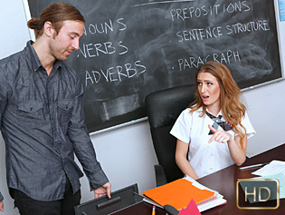 Maci Winslett in Maci Passes Her Class - Innocent High   Team Skeet