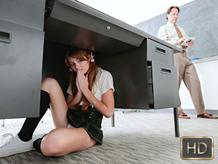 Miley Cole in Sneaky Student Gets Sexed Up - Innocent High | Team Skeet