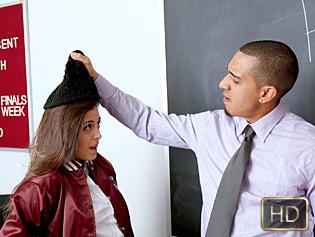 Natalie Monroe in Schoolgirl Learns Her Lesson - Innocent High | Team Skeet