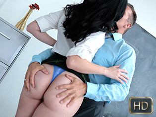 Violet Rain in Professorial Penetration - Innocent High | Team Skeet