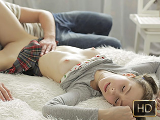 Dunya in Pigtailed Girl Likes It Rough - Lust HD | Team Skeet