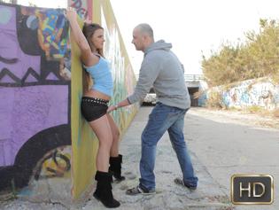 Amirah Adara in A Public Pounding - Oye Loca | Team Skeet