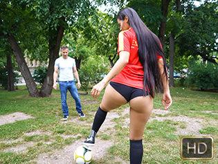 Andreina Deluxe in World Cup Runneth Over With Cum - Oye Loca | Team Skeet