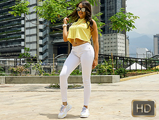 Cameron Bell in Sunglasses And Latina Asses - Oye Loca | Team Skeet