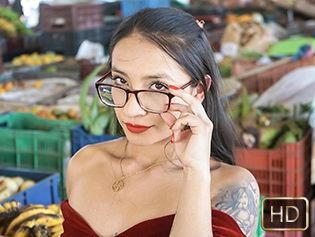 Eva Cuervo in Nerdy Latina Nymphomania - Oye Loca   Team Skeet