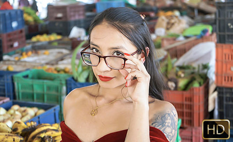 Eva Cuervo in Nerdy Latina Nymphomania | Team Skeet