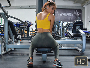 Evelyn Suarez in Working Out Her Latina Pussy - Oye Loca | Team Skeet