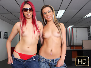 Maritza and Lucy in New To the Biz - Oye Loca | Team Skeet