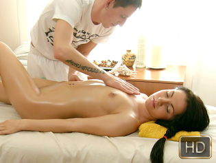 Danaya in Sticky Massage - Rub A Teen | Team Skeet