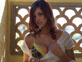 Jayden Cole in Balcony Tease - Self Desire | Team Skeet