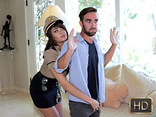 Cassidy Banks in Not Your Average Cop - Titty Attack | Team Skeet